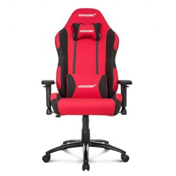 AKRacing Core Series EX-Wide Gaming Chair, Red/Black